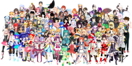 Vocaloid All Stars with Miku Hatsune