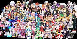 Vocaloid All Stars with Miku Hatsune