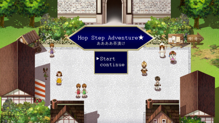 Hop Step Adventure