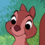 Little Girl Squirrel