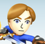 Mii Swordfighter SSB Wii U