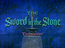 The Sword in the Stone Title