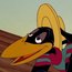 Straw Hat Crow