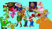 "Link & Mario's Superstars!!! Tennis! Aces!! - ""Intro"" Cutscene"