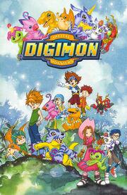 Digimon Adventure Cover