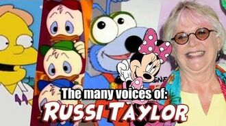 Many Voices of Russi Taylor (Minnie Mouse DuckTales Muppet Babies)