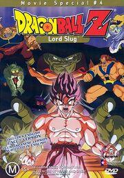 Dragon Ball Z Lord Slug DVD Cover