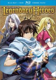 The Legend of the Legendary Heroes 2010 Blu-Ray Cover