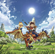 Monster Hunter Stories Ride On Cover
