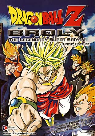 Dragon Ball Z Broly The Legendary Super Saiyan Anime Voice Over