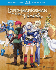 Lord Marksman and Vanadis 2014 Blu-Ray DVD Cover