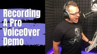 Recording A Voice Over Demo Reel with Steve Blum - TV Promos - Recording Advice