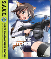 Strike Witches 2008 DVD Cover
