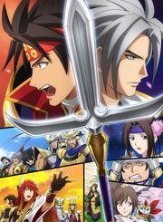 Samurai Warriors Anime Cover