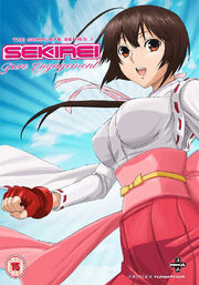Sekirei Pure Engagement 2010 DVD Cover