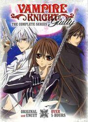 Vampire Knight Guilty DVD Cover