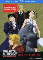 Fullmetal Alchemist Brotherhood OVA Collection Blu-Ray Cover