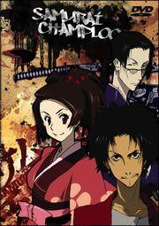 Samurai Champloo DVD Cover