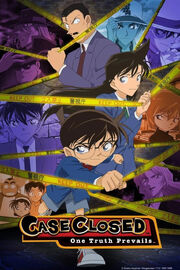 Case Closed DVD Cover