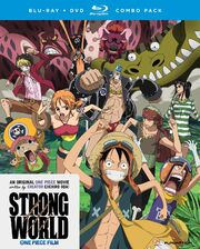 One Piece Film Strong World Blu-Ray Cover