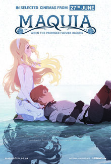 Maquia When the Promised Flower Blooms Poster