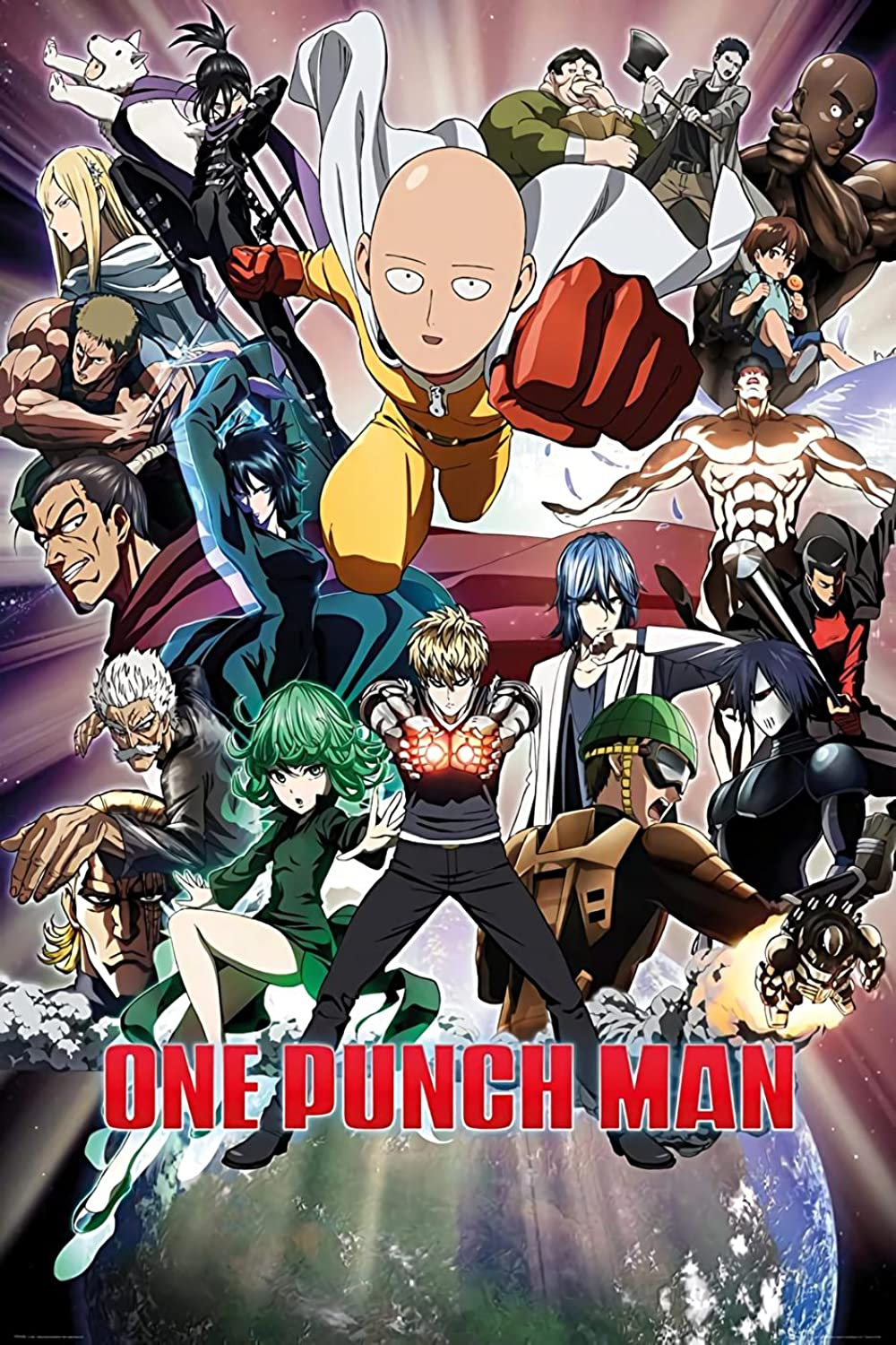 One Punch Man Anime Voice Over Wiki Fandom Powered By Wikia