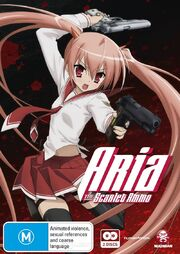 Aria the Scarlet Ammo DVD Cover