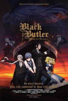 Black Butler Book of The Atlantic