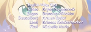 Sword Art Online Alicization Episode 14 Credits