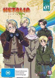 Hetalia Axis Powers 2009 DVD Cover