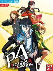 Persona 4 The Animation DVD Cover