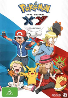 Pokémon The Series XY 2014 DVD Cover