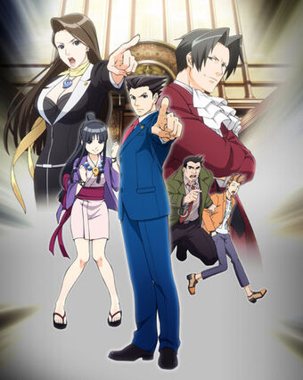 Ace Attorney Anime Voice Over Wiki Fandom