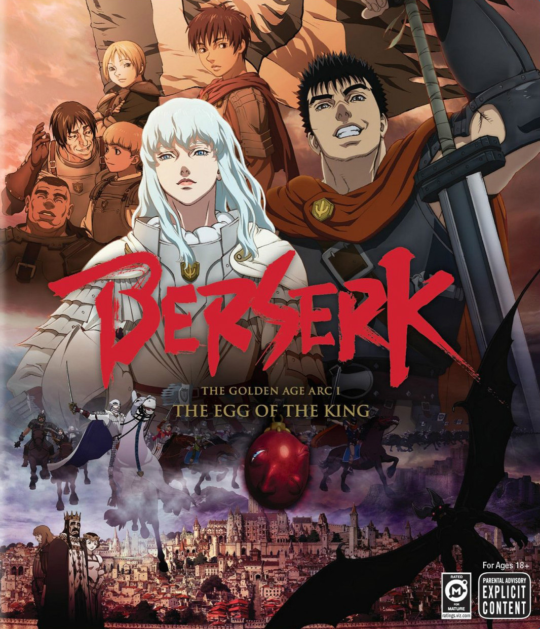 Berserk The Golden Age Arc I: The Egg Of The King