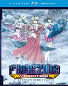 Freezing Vibration 2013 Blu-Ray Cover