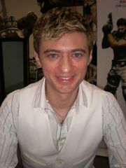Crispin Freeman at Super-Con 2009 1