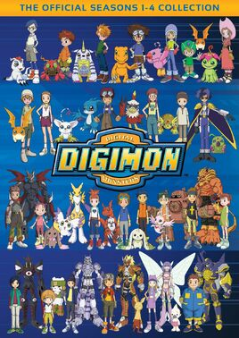 Digimon Digital Monster Collection DVD Cover