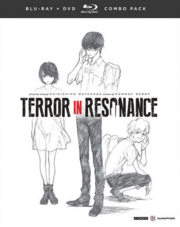 Terror in Resonance Blu-Ray DVD Cover