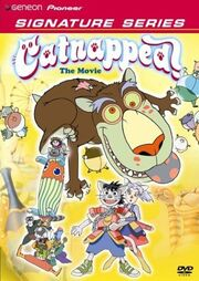 Catnapped! DVD Cover