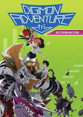 Digimon Adventure tri. Determination 2017 DVD Cover