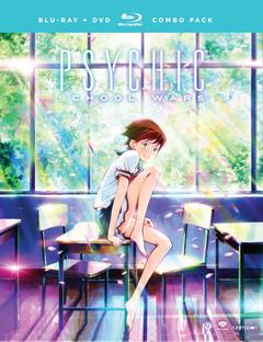 Psychic School Wars 2016 Blu-Ray DVD Cover