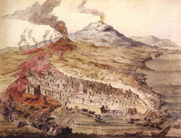 File:Monti Rossi eruption in 1669.JPG
