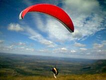 Paraglidertakeoff