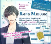 Keita Mitsuura Profile