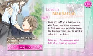 Love in Manhattan - Shusei Hayakawa - Profile