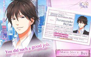 Toranosuke Hajime - Profile