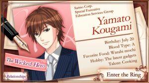 Yamato Kougami - MWA7R Profile