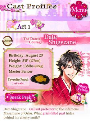 Shigezane SLB Profile