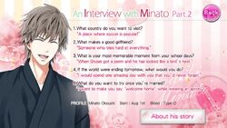 An Interview with Minato - Part 2