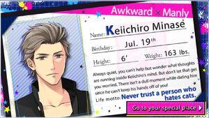 Keiichiro Minase - Profile
